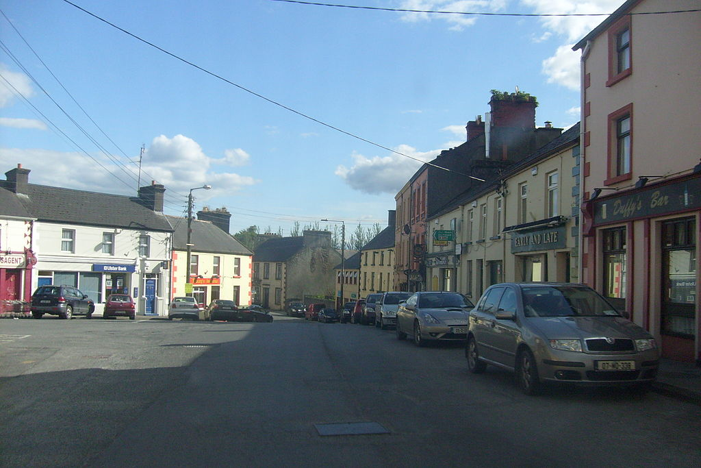 """Kilkelly is a small village, notable due to the song """"Kilkelly, Ireland"""", written by American songwriter Peter Jones. In the late 1970s or early 1980s, Jones discovered a collection of century-old letters sent to his Irish emigrant ancestor in America from that ancestor's father in Kilkelly.[1][2] Jones wrote a ballad based on the contents of those letters, conveying the experience of his own family as well as others who were separated permanently by emigration"""