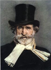 Portrait of Giuseppe Verdi by Giovanni Boldini, 1886.