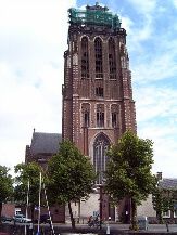 Big Church at the end of the Grotekerksbuurt, Dordrecht