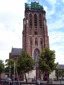 The Grote Kerk (Big Church) in Dordrecht