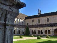 Cloister Fontenay Abbey, Marmagne, France