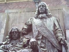 Statue of Cornelis de Witt on the Visbrug, Dordrecht