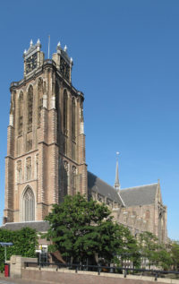 The Grote of Onze Lieve Vrouwekerk (the Big Church, or the Church of our good Lady)