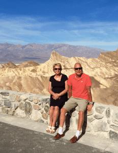 Zabrisky point, Death Valley, USA