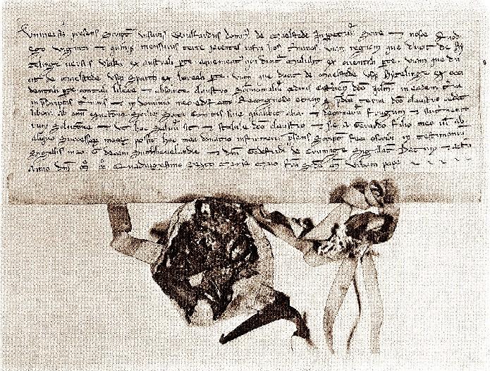The Foundation charter of the Jerusalem cloister